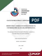 TESIS Mindfulness y Ansiedad en Estudiantes de Una Universidad Privada de Lima