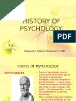Beginnings of Experimental Psychology