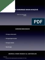 Curs 18 - Chirurgie Minim Invaziva 2018