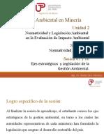 Sesión 05 y 06 Normativa y Legislación Ambiental 1