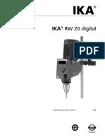 POP CQ 019 Agitador Manual Do Fabricante