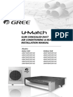 GREE  U-Match-Slim-Duct-Installlation-Manual-v1.0-Web1.pdf