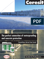 Cementitious Slurries From Ceresit