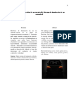 Diseño y Construcción de Un Circuito Del Sistema de Alumbrado de Un Automóvil