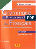Grammaire Progressive du Francais