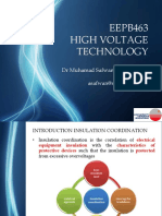 EEPB463 High Voltage Technology (Chapter 8)