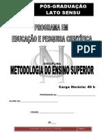 5-APOSTILA - Módulo - Metodologia Do Ensino Superior – 40h