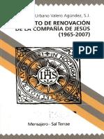 47. El Proyecto de Renovacion de La SJ. Urbano Valero SJ