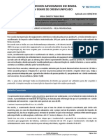 147386 Gabarito Justificado - Direito Tributario Reaplicacao Porto Alegre