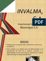 INVALMA, S.A..pptx