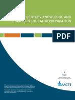AACTE-P21 White Paper vFINAL 21st Century
