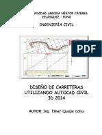 Manual de Autocad Civil 3d 2014