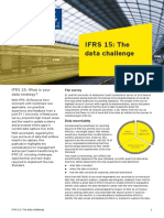 EY Ifrs 15 the Data Challenge
