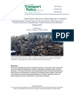 Evaluating Transportation Economic Development Impacts