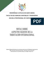 Apuntes Tributación Internacional