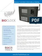 Bt-bclock Espanol Brochure