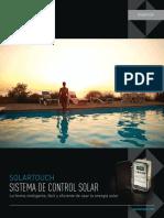 SolarTouch Control System Spanish