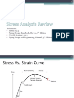 Stress Analysis Review