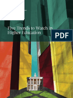 (M) Five Trends Higher Education Apr 2014