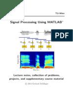 Doblinger Matlab Course
