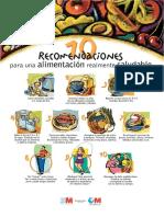 10 Recomendaciones Para Una Alimentaci_n Realmente Saludable. CARTEL