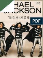 Michael Jackson 1958-2009 book (sheet music)