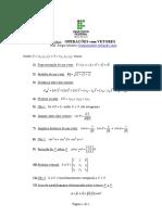 Formulario Operacoes Com Vetores