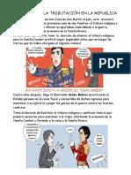 Cuento de La Historia de La Tributación en La Republica