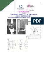 COLUMNAS ESBELTAS SOMETIDAS A FLEXO-COMPRESIÓN. PRESCRIPCIONES REGLAMENTARIAS. CIRSOC-2005..pdf