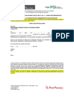 Documento de Convocatorias CAS 2018