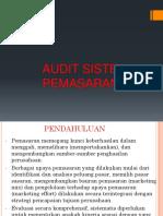 6 Audit Sistem Pemasaran
