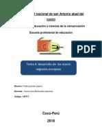 Desarrollo de Las Macroregiones del peru