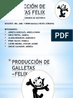 Producción de Galletas Felix Exposicion