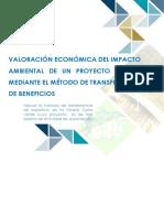 Informe Final de Valoración de Impacto Ambiental