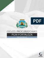 Simulado Gratuito - PGM Fortaleza