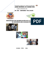 PLAN 11399 Programa de Segregacion en La Fuente 2011