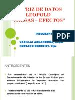 Matriz de Datos Leopold[1]