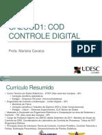 Controle Digital Introdu o