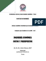 Copia de Costos y Presupuestos Jms