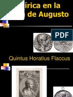 La Lírica en La Época de Augusto