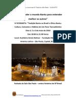 IV ECOBANTU - ESPECIFICO PARA O GABÃO
