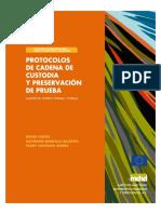 Protocolos de Conservacion de Prueba