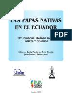 Papas Nativas Ecuatorianas Estudio Cualitativo