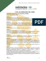 2 Declaracion de Los Derechos Del Nino