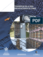 168445439 Caracteristicas de La Red de Telecomunicaciones en Cobre PDF