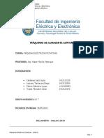 Máquinas de Corriente Contínua.