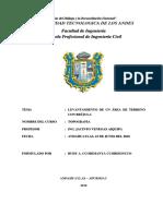 INFORME DE MANEJO DE LA BRÚJULA