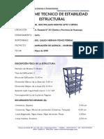 4.1 Informe de Estabilidad Estructural