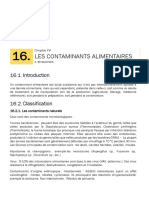 Les Contaminants Alimentaires