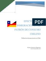 Efecto de La Inmigración en El Patrón de Consumo Chileno